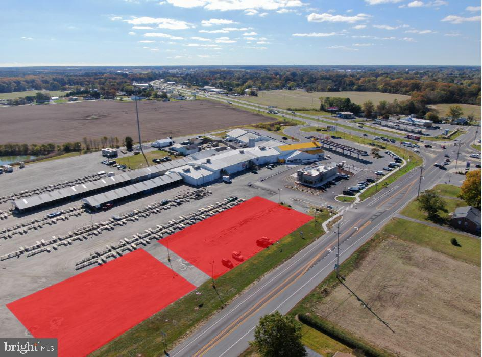 COUNTY SEAT HWY #2 PAD SITES   - Real Estate
